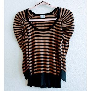 H&M Stripe Top Size Small